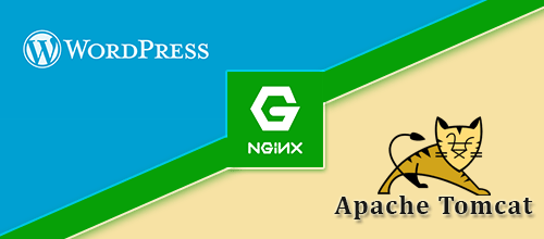 Configure NginX to host secured Tomcat application with Wordpress on