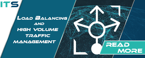 load balancing and high volume traffic management banner