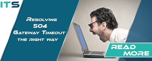 Resolving 504 Gateway Timeout error the right way